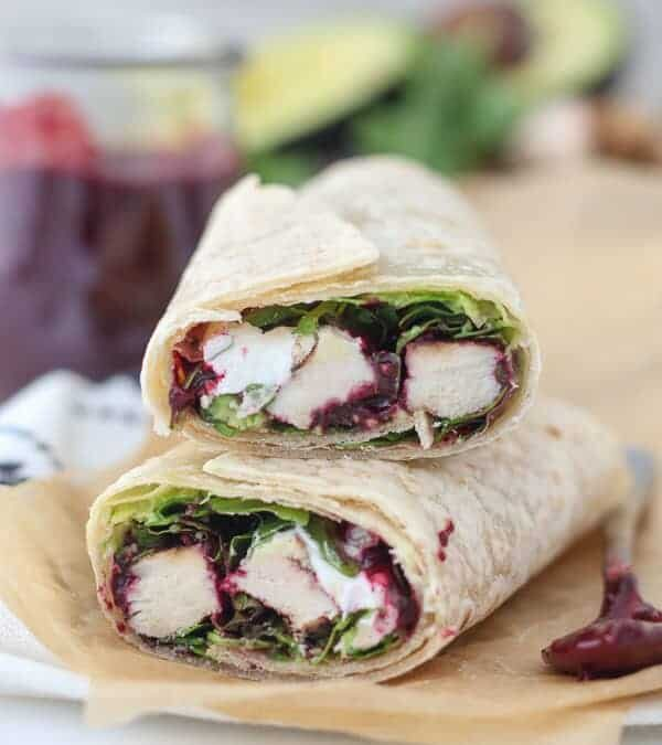 And That's a Wrap!  Chicken Wrap…that is.
