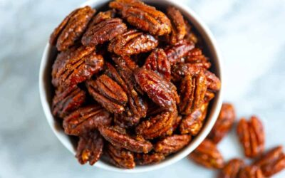 Keto Friendly Candied Pecans