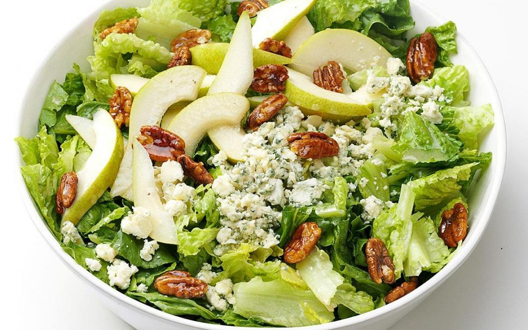 Goat Cheese and Pear Salad
